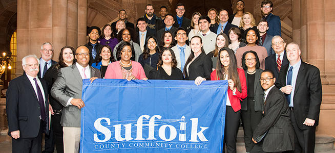 PHOTOS: Suffolk Students Meet With Elected Officials During Advocacy Day