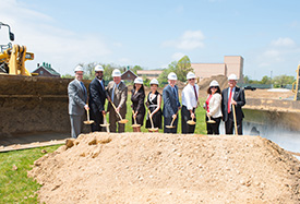 Ground Broken on Grant Campus Learning Resource Center