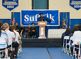 Suffolk's Academic Convocation