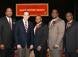 Dr. Mackay & Senator Lee Zeldin - Black History Month Awards Ceremony 2/21/14