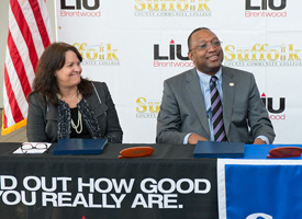 Suffolk/LIU Expand Partnership