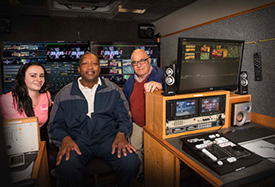 Suffolk Unveils First Live-TV Production Vehicle for Community College in NY