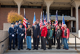 Honoring Veterans with the Student Veteran Association (SVA)