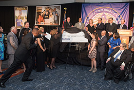 Suffolk Receives $1 Million Gift at Spring 2016 Gala