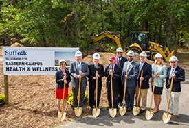 Suffolk Breaks Ground for Eastern Campus Health & Wellness Center
