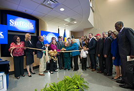 Ribbon-Cutting Ceremony for the William J. Lindsay Life Sciences Building