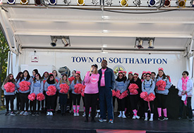 Suffolk Hosts Thousands for Breast Cancer Walk at Eastern Campus