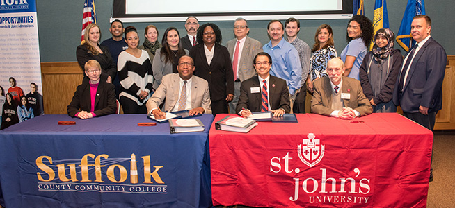 PHOTOS: St. John's University Partnership and Signing Ceremony