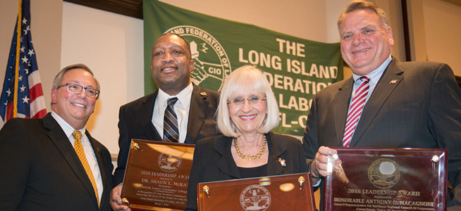 PHOTOS: L.I. Federation of Labor Awards